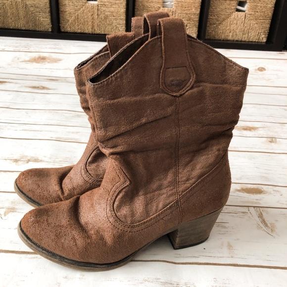 53620b12433 Rocket Dog Ankle Cowboy Boots - 7.5